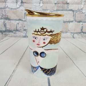 Starbucks Illustrated Siren Mermaid Travel Mug